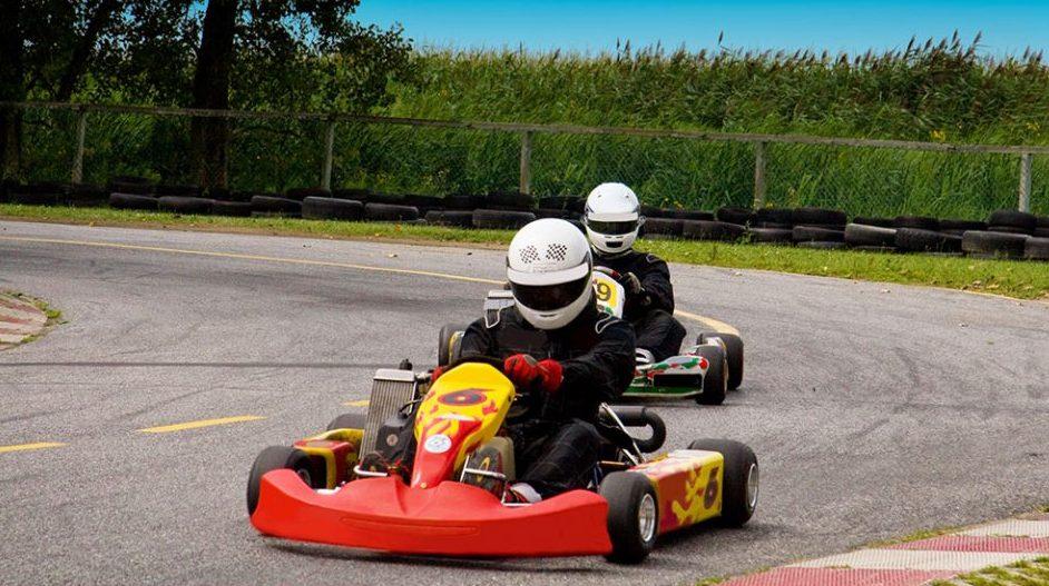 Go-Kart fahren zum JGA