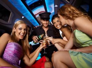 Stripper in Limousine